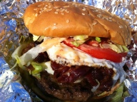 Whole Truck Burger w/ all the Fixings